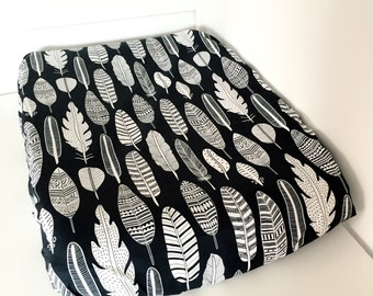 Change pad cover - Feathers - Universal Fit (80x50cm)