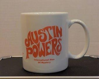 Austin Powers International Man Of Mystery 1997 Coffee Cup  Mug  Tea