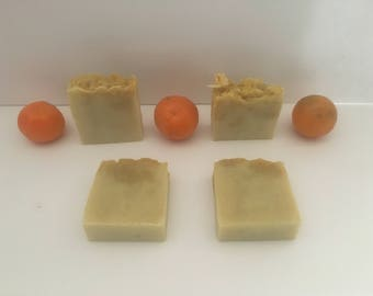 Orange soap ( vegan)