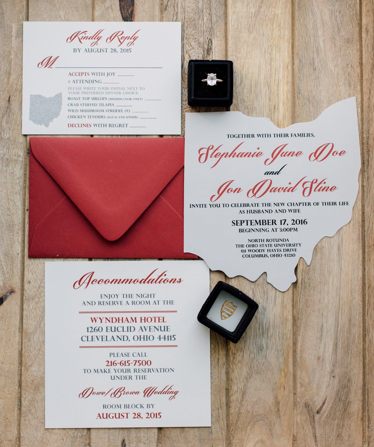 Beautiful Wedding Invitations William Arthur Elaboration ...
