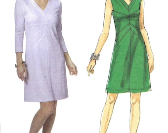 Butterick Dress Pattern Uncut Sewing 2011 Women's Misses Size 8 - 16 Bust 31. 5 - 38 Inches