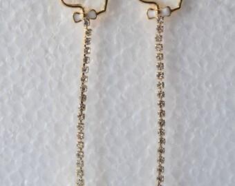 Vintage Earrings Playboy Earrings
