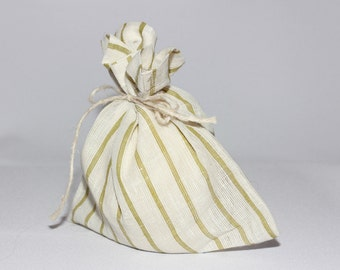 sale!!!Pure Linen Gift Bags