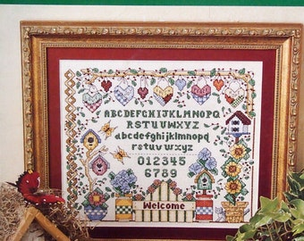 ABC's Of Cross Stitch By Tom And Felicia Wililams Cross Stitch Pattern Leaflet 2001