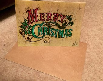 Merry Christmas Card Pack