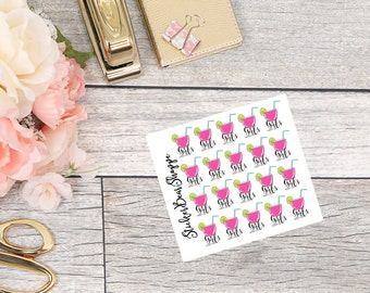 Girls Night Out Stickers - For Erin Condren Life Planner or Happy Planner