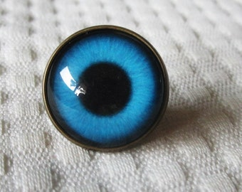 Sew on glass eyes, button back glass eyes, glass buttons