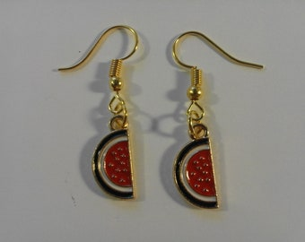 Watermelon Dangle  Earrings  250020