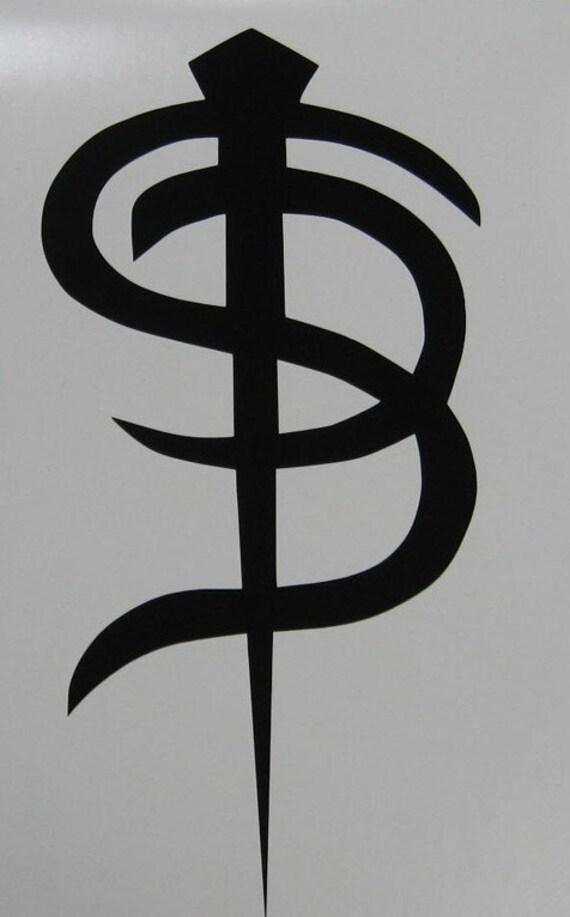 Skinny Puppy Logo Decal Sticker Industrial Goth