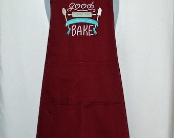 Baker, Baking Kitchen Apron, Custom Friend, Grandparent Birthday Gift, Personalize Grammy, Mimi, Nana, Nonnie, Ships TODAY, AGFT 1308