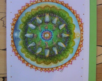 Bright Blessings Handmade Card