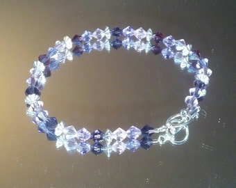 Purple Crystal Bling