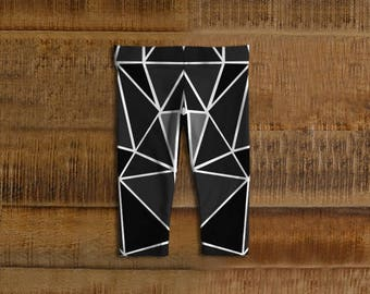 Geometric Kids Leggings (available in more colors)