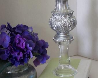 Dahlia glass finial