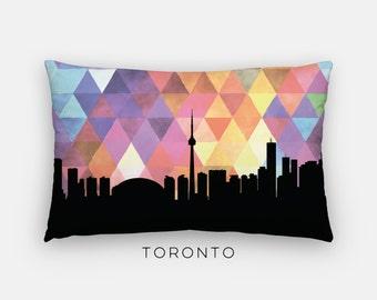 Toronto skyline pillow | Toronto pillow | Toronto home decor | Toronto Canada pillow | Toronto home decor | Toronto Ontario home decor
