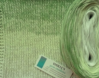 MINT JULEB SILK Medley - Color Changing Cotton/Silk yarn - 480 yards/100 gr - Fingering Weight