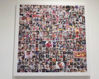 Painting with 365 photos for first year, wedding photography or travel photos