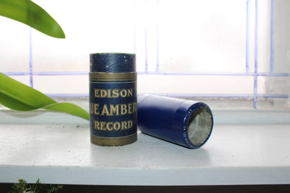 Antique Edison Cylinder Record 2971 On The Beach Medley