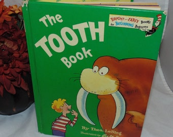 Vintage The Tooth book Theo LeSieg  HC 1st edition. Dr. Seuss 1981