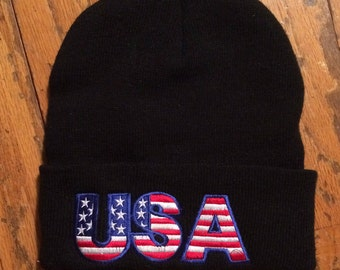 U.S.A. winter hat/ beanie /cold weather