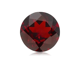 7.00-7.90 Cts of 12 mm AAA Round Cut Mozambique Garnet ( 1 pc ) Loose Gemstone-396252