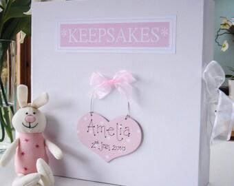 Baby's Keepsake Box| PersonalisedBox| New Baby Gift | Baby's Memory Box| Christening Box| Baby Shower Gift| Baby's Keepsakes| Confirmation
