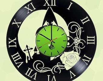 Zelda Twilight Princess Vinyl Record Wall Clock