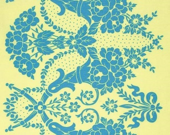 WHOLESALE Beauty Queen JENNIFER PAGANELLI 1 Yard Valerie in Yellow Fabric