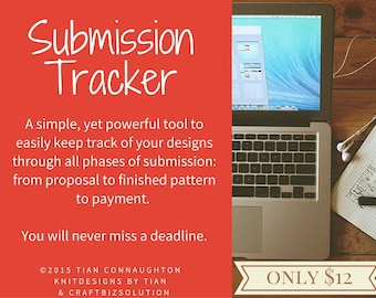 Submission Tracker (MS Excel Worksheet)