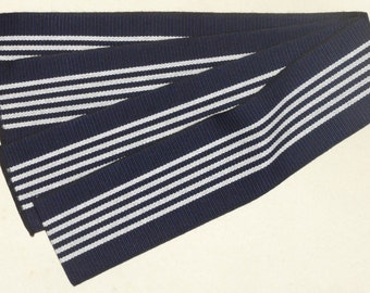 New Navy Blue Cotton Tanzen Men's Japanese Obi Belt for Yukata Cotton Kimono, Men's Yukata Obi,  Makes a Great Strap for Projects!