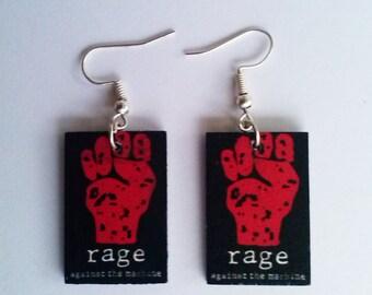 Rage Against the Machine Earrings