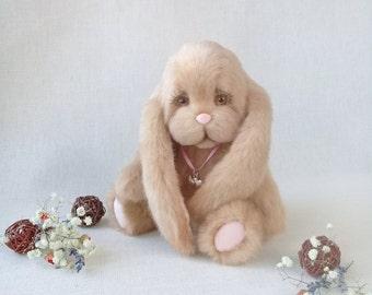 Bunny Teddy Bunny (make to order) teddy bunny teddy gift  bunny handmade toy rabbit rabbit teddy toys teddy lucky  buy Teddy Gift for mom