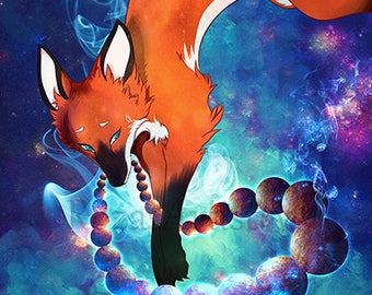 Kitsune Guardian Universe Fox