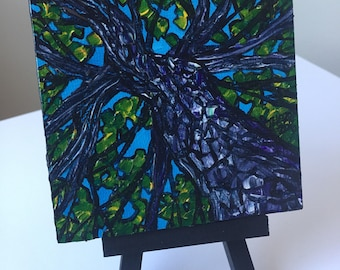 Tree Perspective Mini Painting