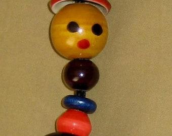 Wooden Bead Key chain