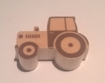 """The bead pattern """"Tractor"""""""