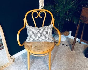 SOLD Vintage Rattan Chair