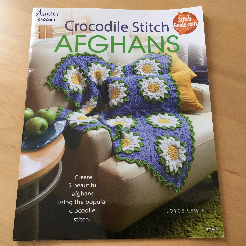 Crocodile Stitch Afghans Crochet Book by Annie\'s Crochet Pattern ...