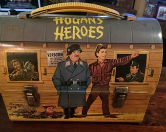 Vintage Lunchbox & Thermos Set: 1966 Hogan's Heroes