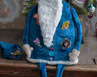 Kind Grandfather Frost brought gifts to all 2