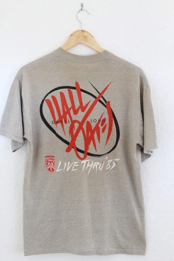 Tan Faded Big Hall Shirt Oates Thin Paper Tour Bam XL amp; Boom 1985 Vintage qZ1wzx1
