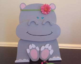 Hippo jewelry boxes-baby jewelry box, baby shower gifts, girls jewelry box.