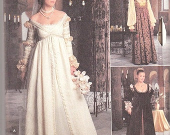 Renaissance Medieval Wedding Dress