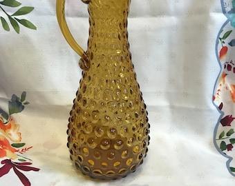 Fenton Hobnail flower vase