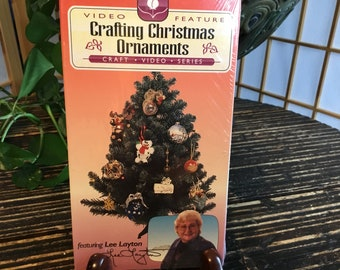 Crafting Christmas Ornaments Vintage VHS Featuring Lee Layton A  White Rose Production