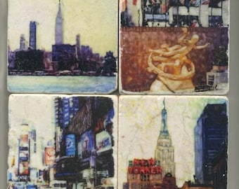 New York Series - Original Coasters