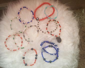 Beaded fashion jewelry for children, teens and adults