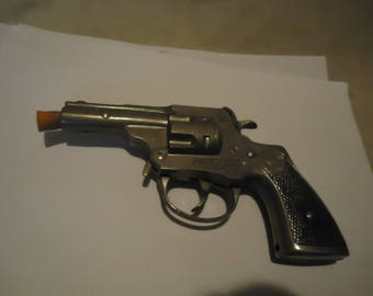 Vintage Hubley Trooper Snub Nose Toy Cap Gun, NOT WORKING, collectable