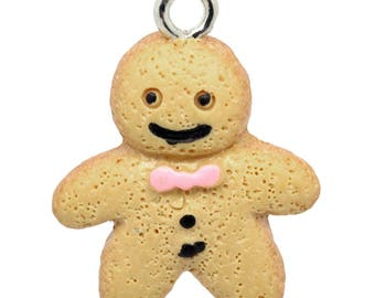 p' Gingy smiling gourmet charm