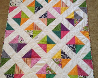 Throw Sized Signature Quilt